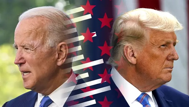 "Trump prematurely claims election victory, Biden says he is ""on track"" to win the White House"