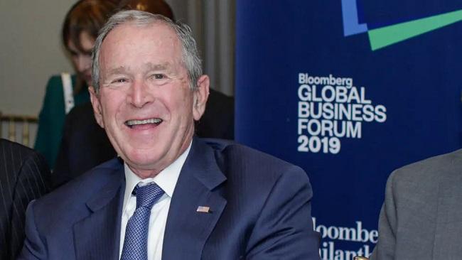 George W. Bush congratulates Biden on victory, calling him a 'good man'
