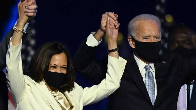 US: Biden and Harris named Time 'Person of the Year'