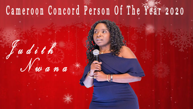 Judith Nwana is Cameroon Concord Person of the Year