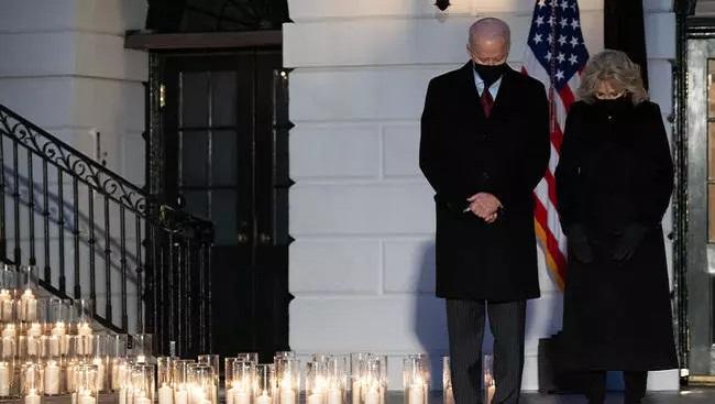 Covid: Joe Biden calls United States' 500,000 deaths a 'heartbreaking' milestone