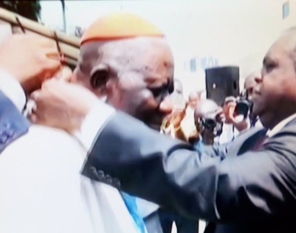 "Cardinal Tumi gives Biya his first ever ""thank you"""