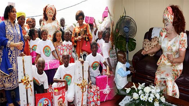 Chantal Biya Foundation provides for vulnerable children in the Littoral