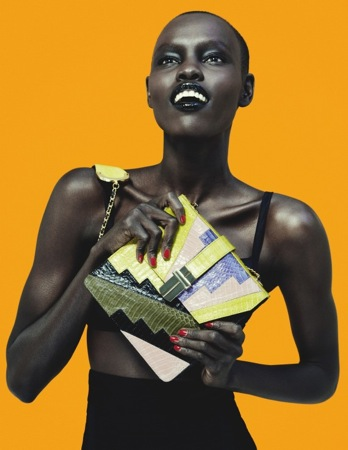 African fashion models taking over the runway