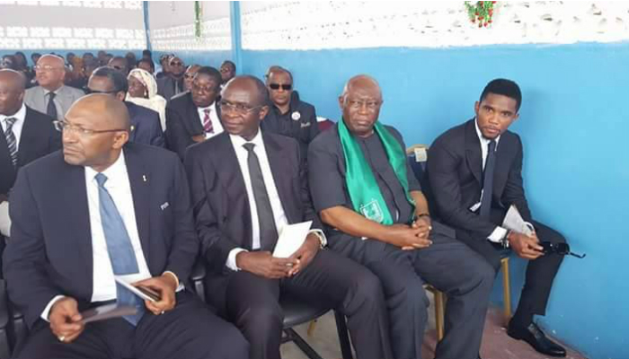 Samuel Eto'o pays homage to the late President of the Cameroon Professional Footballers Association