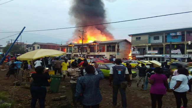 Buea Molyko Fire: Mayor Ekema Patrick pledges support to victims, moves those rendered homeless to a Bomaka Hotel