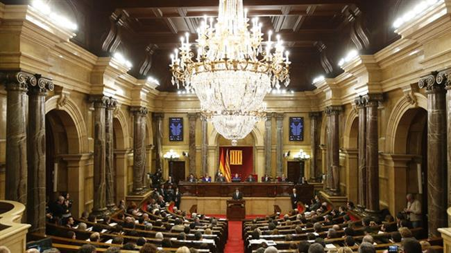 Catalan lawmakers approved resolution outlining steps to form a state