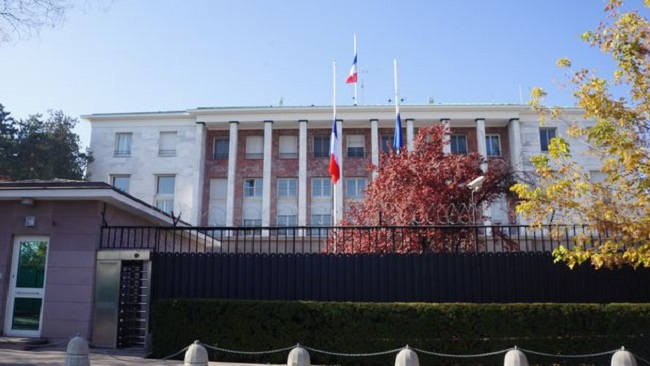 France closes embassy and consulate in Turkey