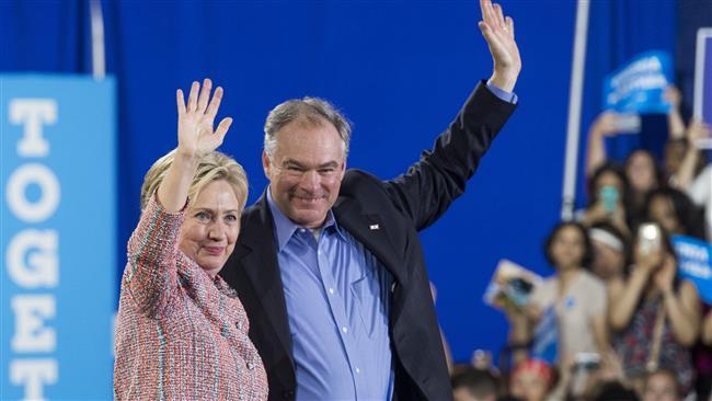 Hillary Clinton announces Senator Tim Kaine as her running mate