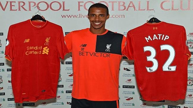 Joel Matip now a Liverpool player