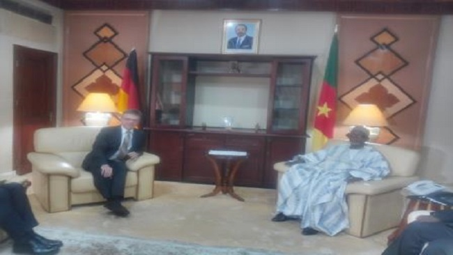 Germany's new strongman in Yaounde meets External Relations Minister