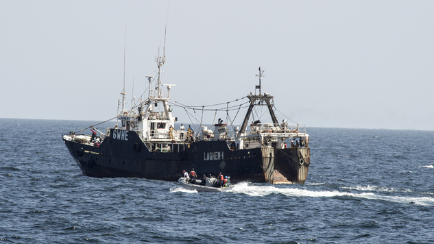 Cameroon: National Marines impounded another fishing vessel in the SONARA area