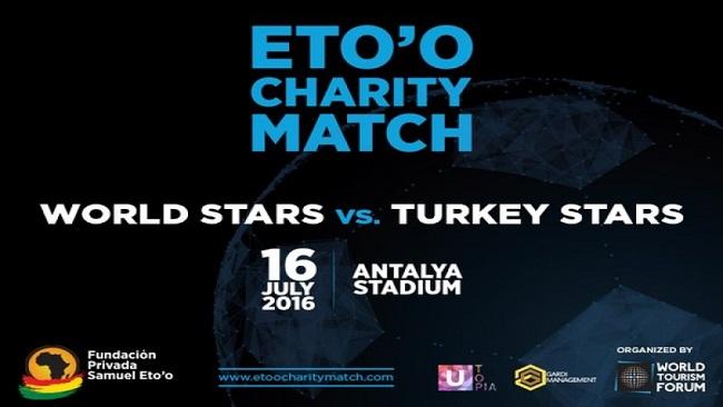 Eto'o cancels charity match in Turkey