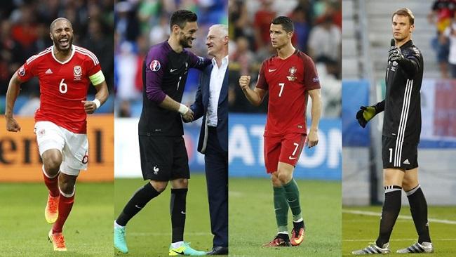 Euros 2016: Portugal 2 : Wales 0
