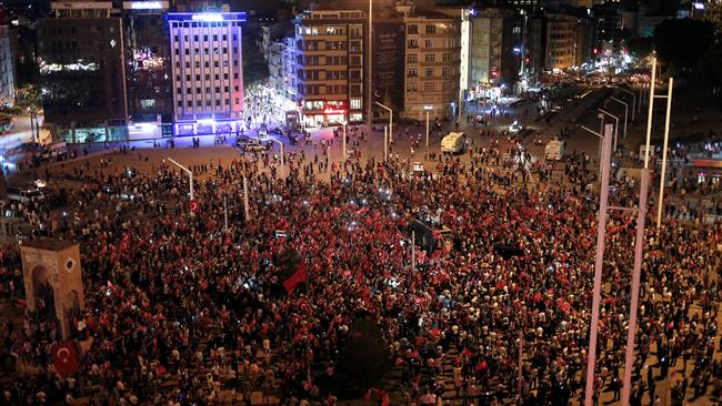 Turkey: Thousands celebrate failed military coup