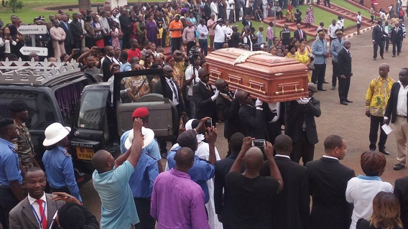 Anne Marie Nzie going home to rest