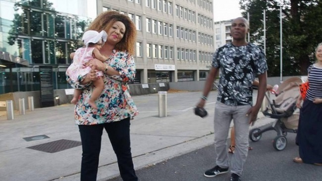 After 70 days of absence, Chantal Biya emerges in an undisclosed European street