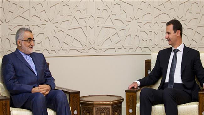 President Bashar al-Assad slams Saudi Arabia and Turkey