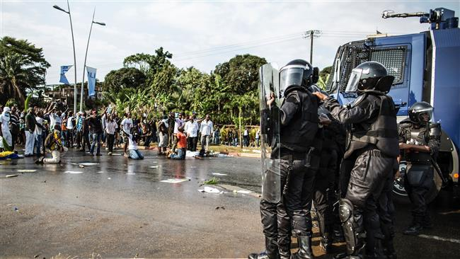 Stolen victory sparks clashes in Gabon