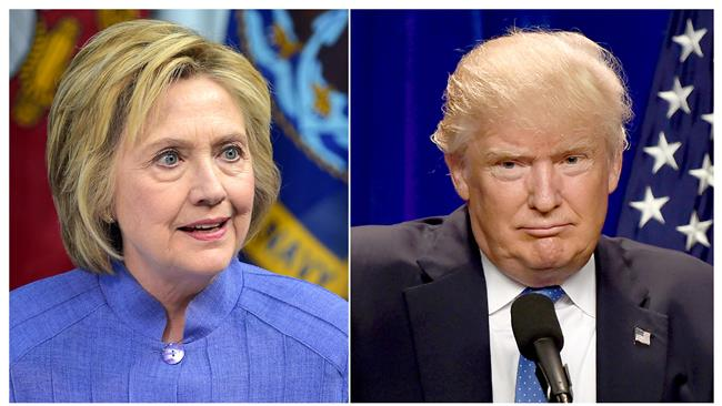 Trump leading Clinton according to a national tracking poll