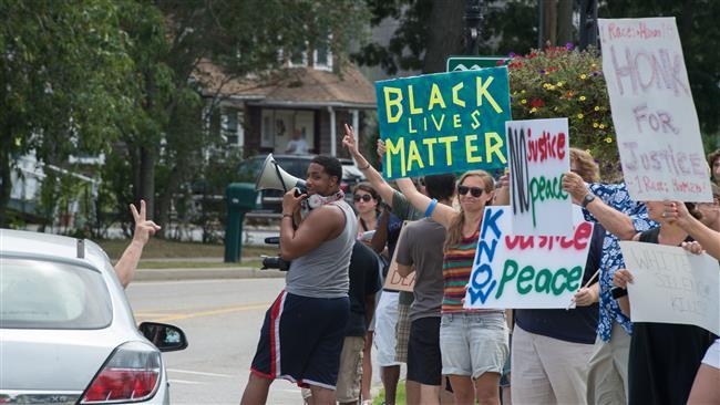 Black Lives Matter protest holds in New York