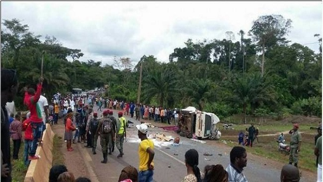 Littoral Region: 170 road accidents in six months