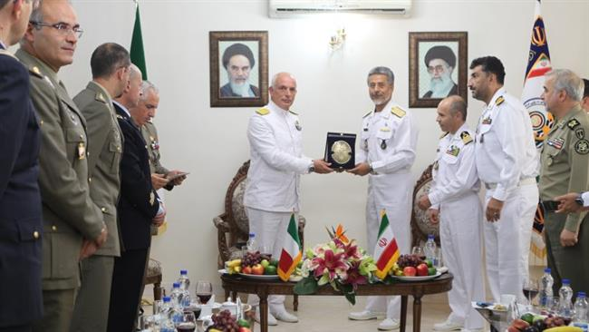 Italy: Military delegation invites Iranian naval groups to visit Italian territorial waters