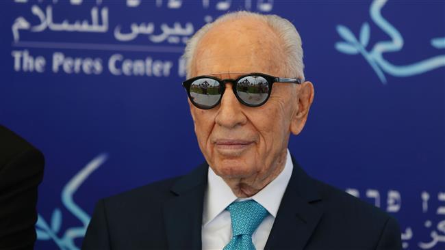Tel Aviv: Shimon Peres passes on