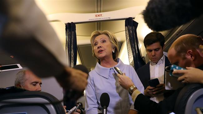 Hillary Clinton says alleged Russian hacking into US election campaign is posing serious threats