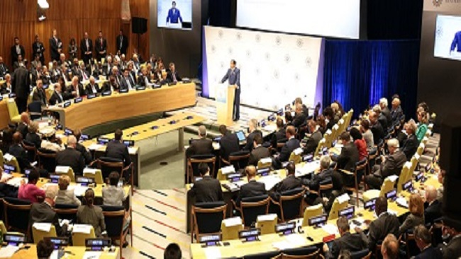 New York: What President Biya said at the Leaders' Summit on Refugees held on September 20, 2016