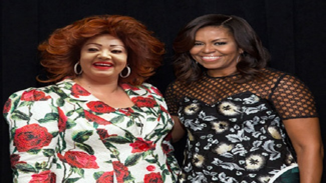 """First Lady Chantal Biya attends event dedicated to """"Let Girls Learn"""" initiative"""