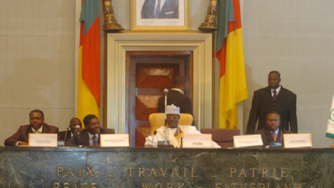National Assembly Speaker Cavaye Yegue Djibril is heading a corrupt parliament