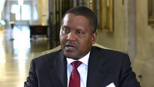 Dangote says despite the size of his group and investments he needs 38 visas to travel across Africa