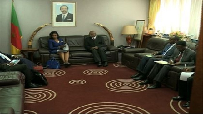 """Yaounde: Philemon Yang gives """"CPDM answer"""" to a delegation from the Economic Community of Central African States"""