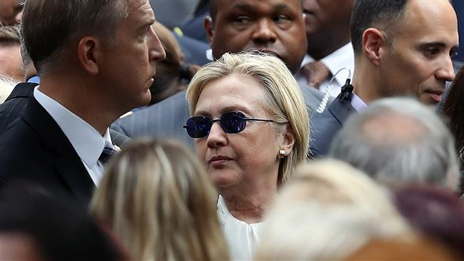 Hillary Clinton is diagnosed with pneumonia