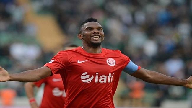 SAMUEL ETO'O will not play for Antalyaspor until further notice!!!