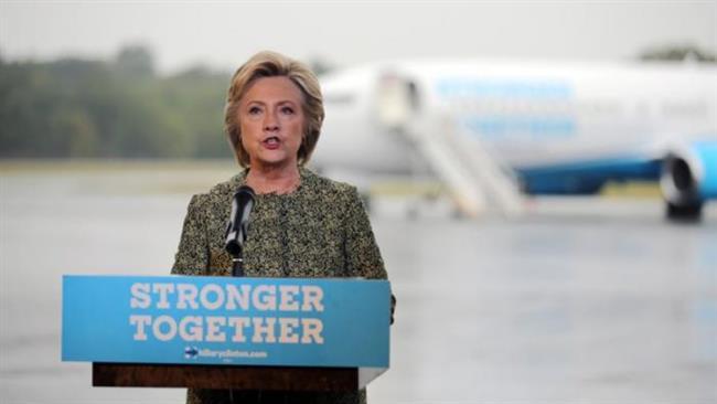 Hillary Clinton accuses Trump of helping the Daesh terrorist group