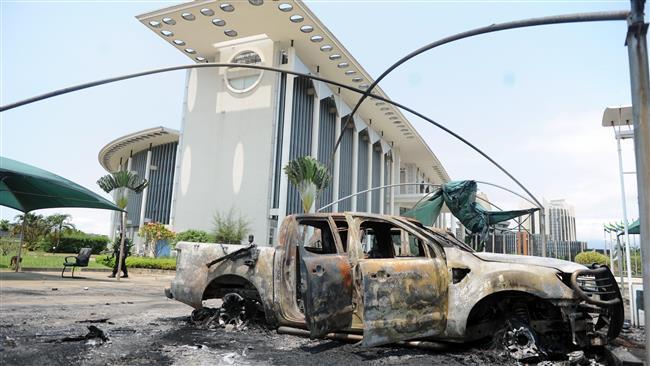 African Union mediators have postponed trip to Gabon
