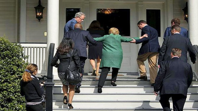 Race for the White House: Serious concerns about Hillary Clinton's health