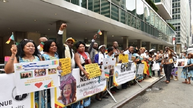 "CPDM USA in disarray over Chantal Biya ""chicken change"""