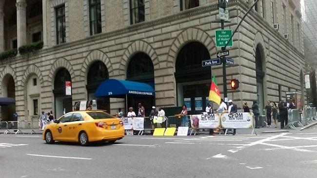New York: Biya humiliated by CPDM militants