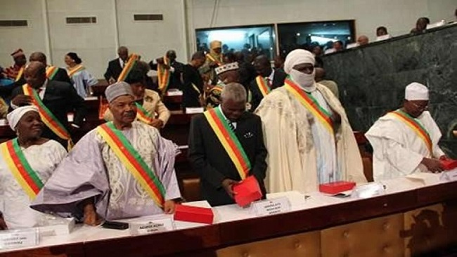 The Cameroonian House of Senate has reached its point of high comedy