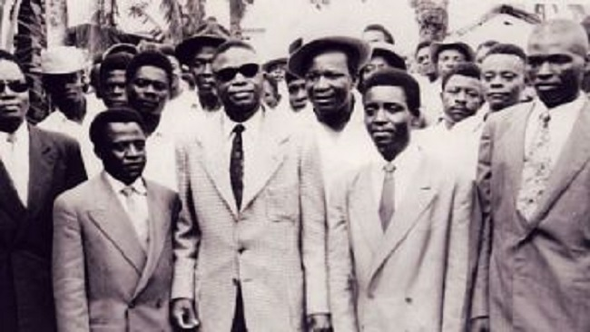 French Cameroonians commemorating Martyrs Day