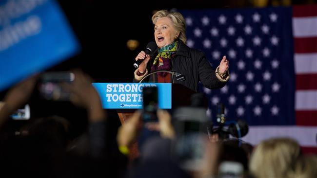 Hillary Clinton says Trump is threatening US democracy