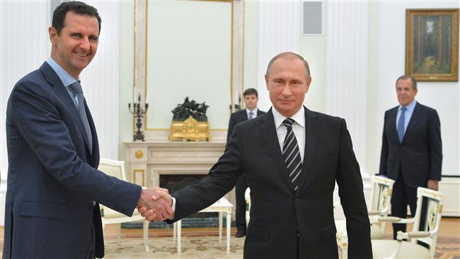 Syrian President Bashar al-Assad and Putin have discussed developments in Syria