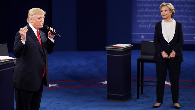 Trump and Clinton attack each other with brutal exchanges during second debate