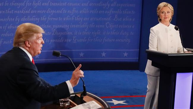 Trump and Clinton face off in last one-on-one debate
