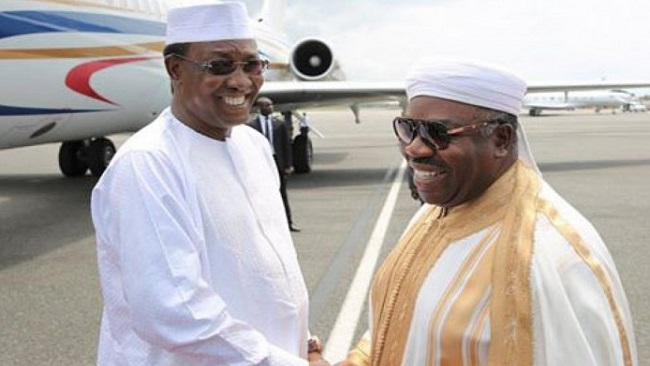 Chadian Leader meets President Ali Bongo in Libreville