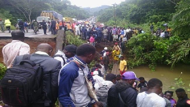 Douala-Yaounde motorway crisis affecting the entire Sub Saharan region