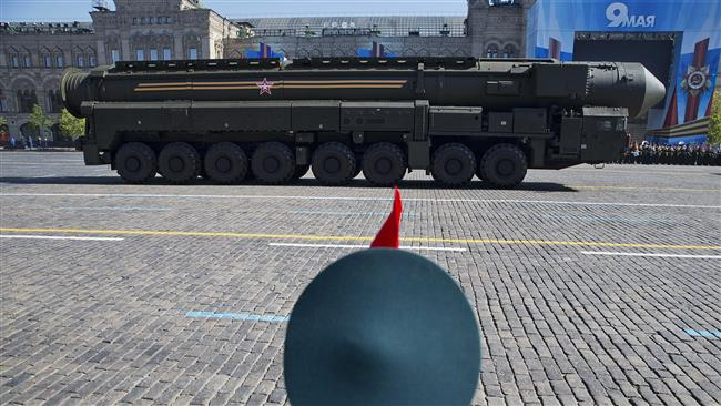 Russia's military has test-fired three intercontinental ballistic missiles amid increasing tensions with the US